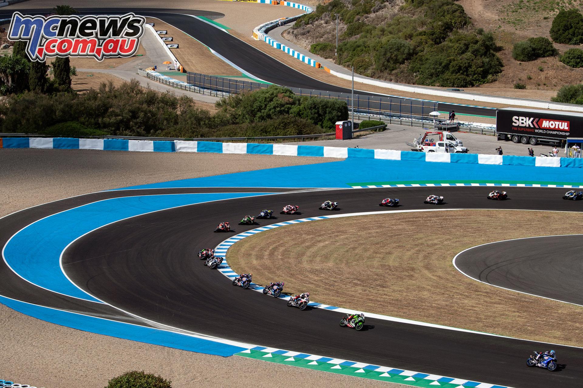 WSBK Rnd Jerez Sun Haslam GB