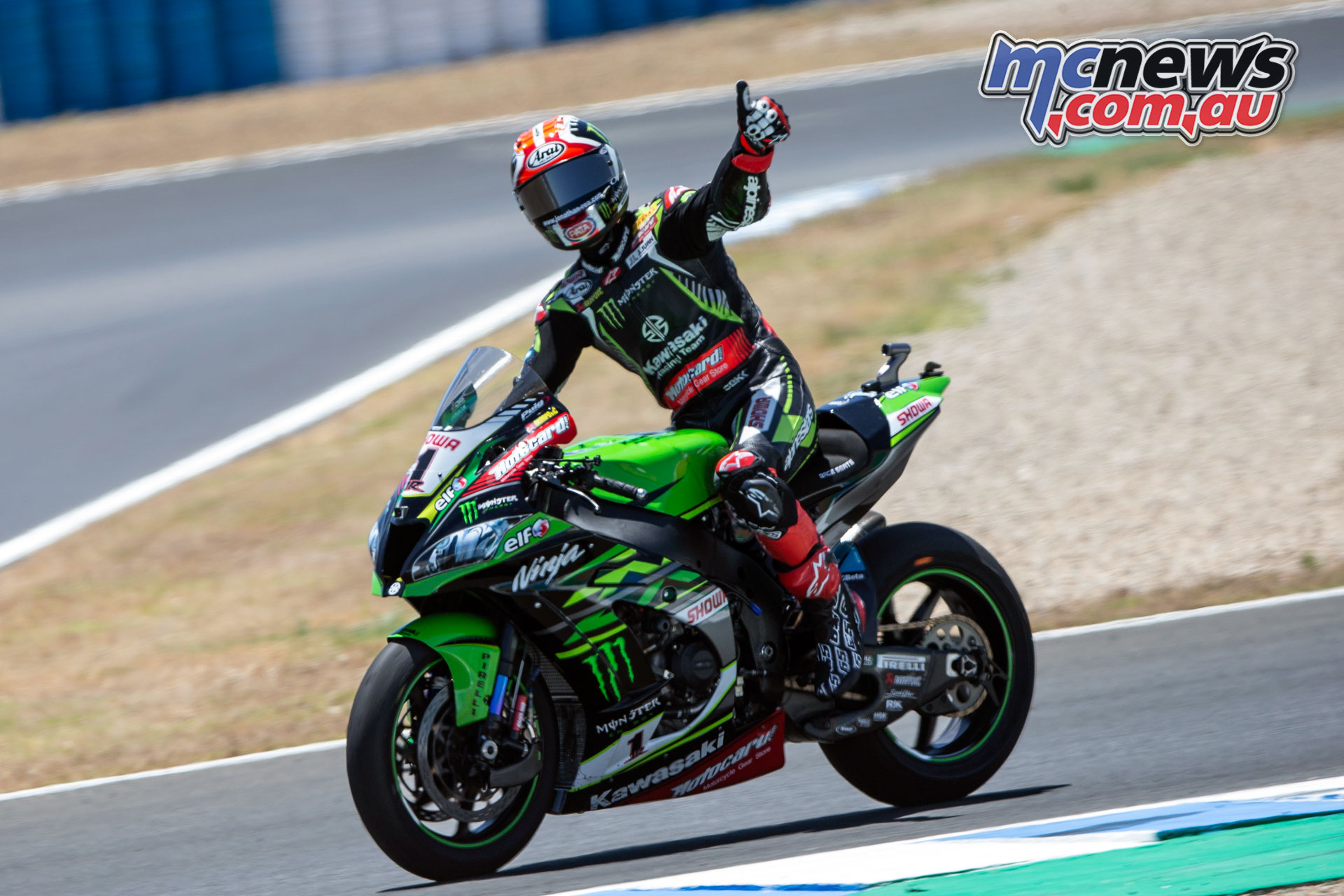 WSBK Rnd Jerez Sun Rea CQ