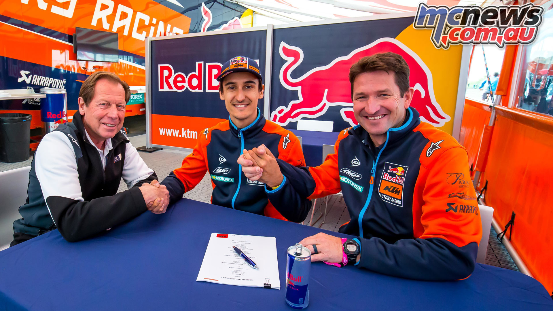 KTM Musquin Contract Extension