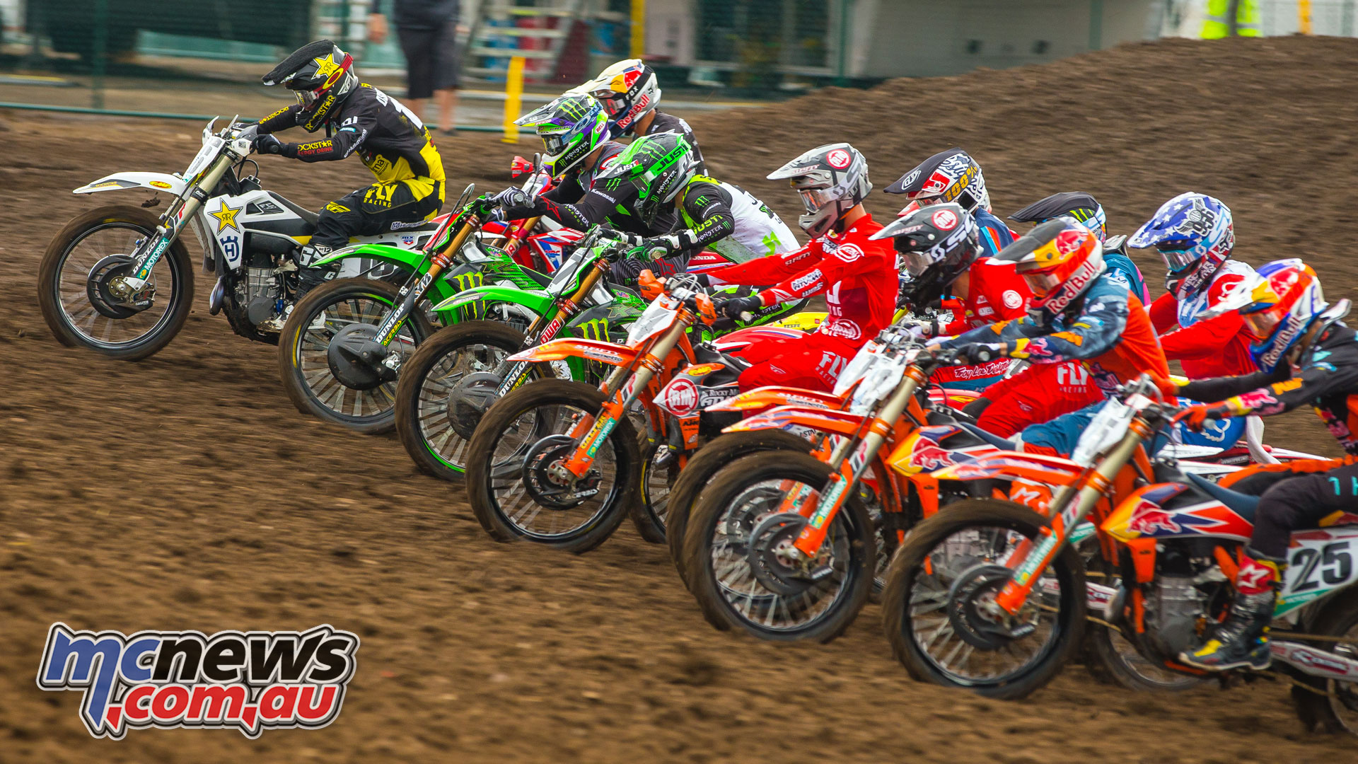 AMA MX Rnd Thunder Valley Starts JK MX Lakewood