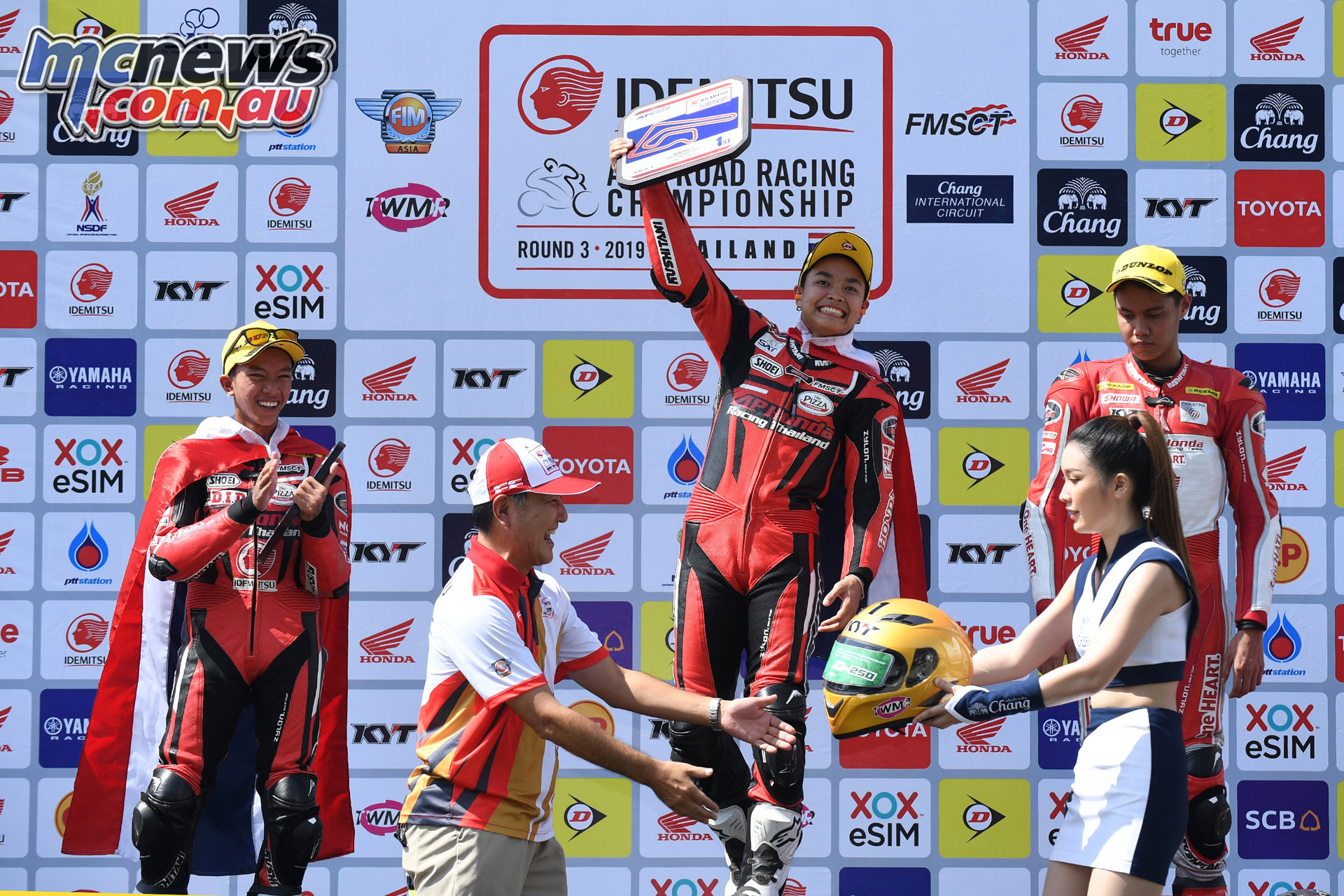ARRC Rnd Chang Thai Muklada Sarapuech Winner