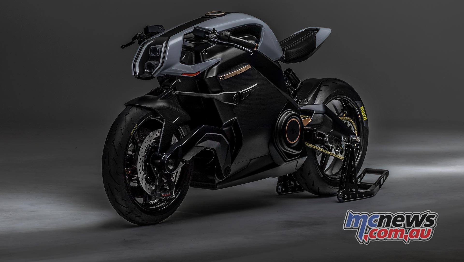 Arc Vector   New electric motorcycle taking shape   MCNews