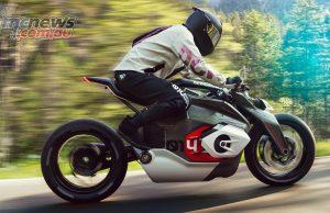 BMW Motorrad Vision DC Roadster Action