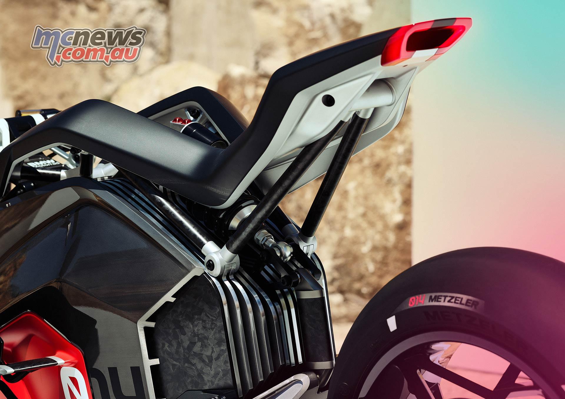 BMW Motorrad Vision DC Roadster Detail