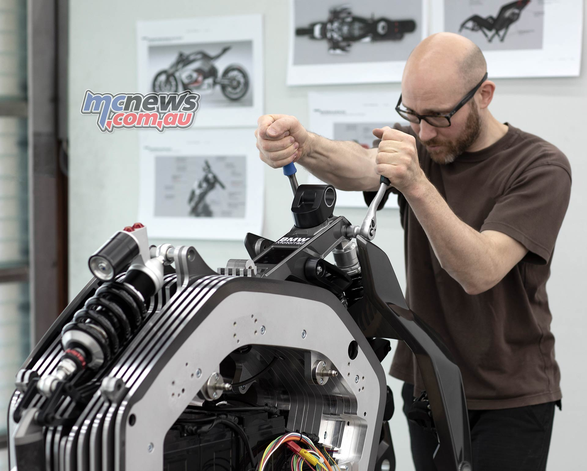 BMW Motorrad Vision DC Roadster Production
