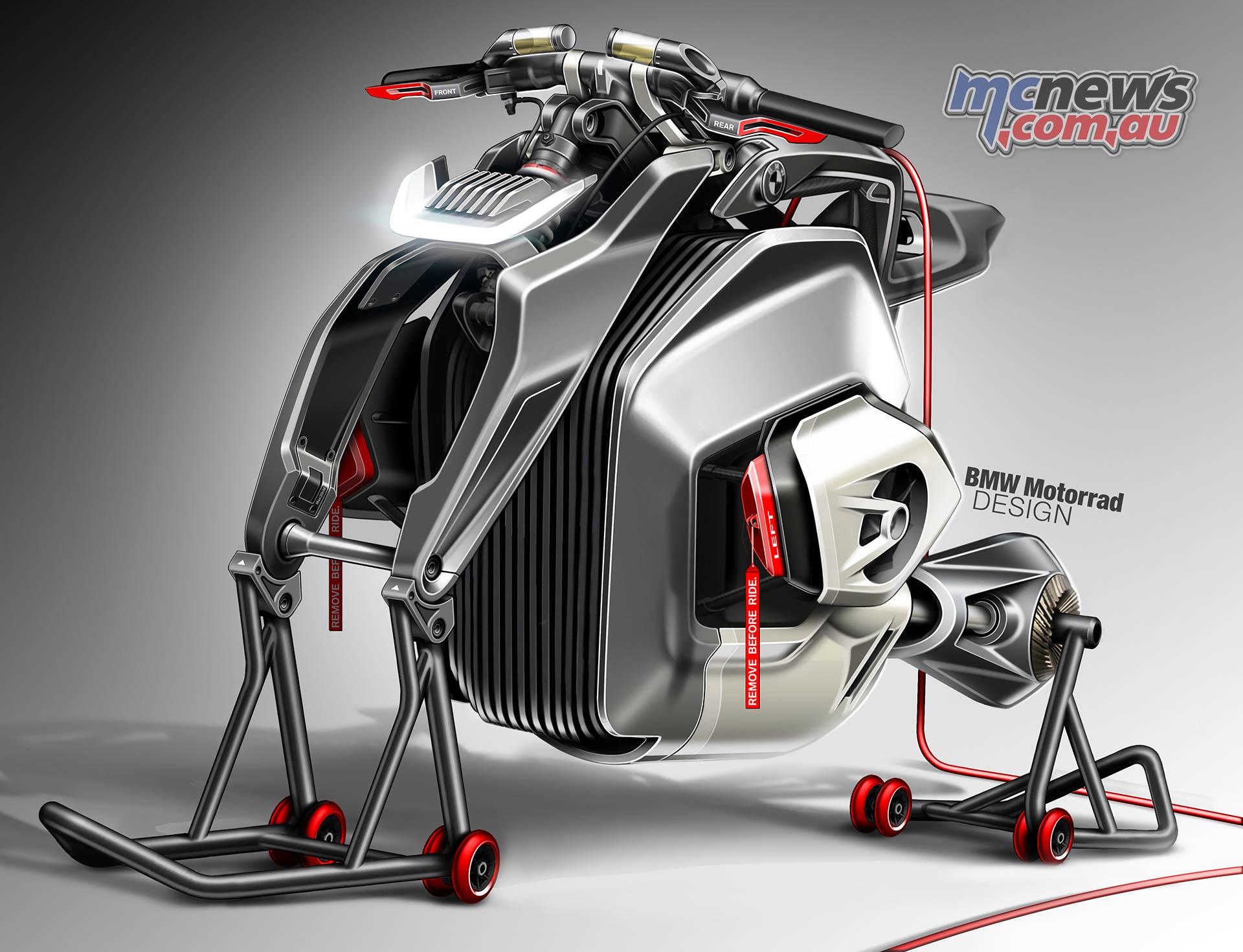 BMW Motorrad Vision DC Roadster Sketch
