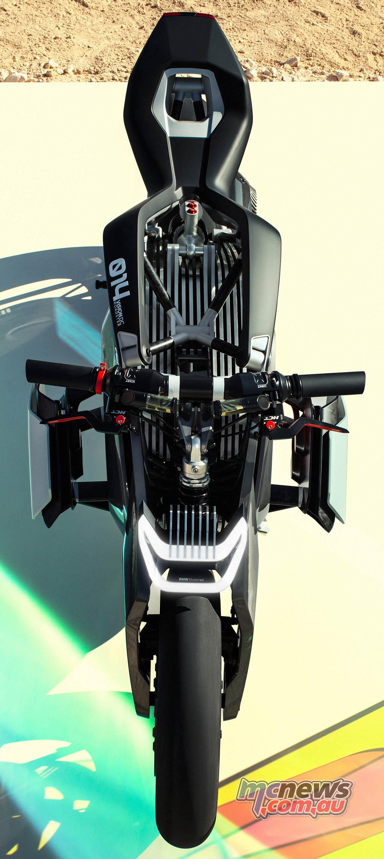 BMW Motorrad Vision DC Roadster Static Above