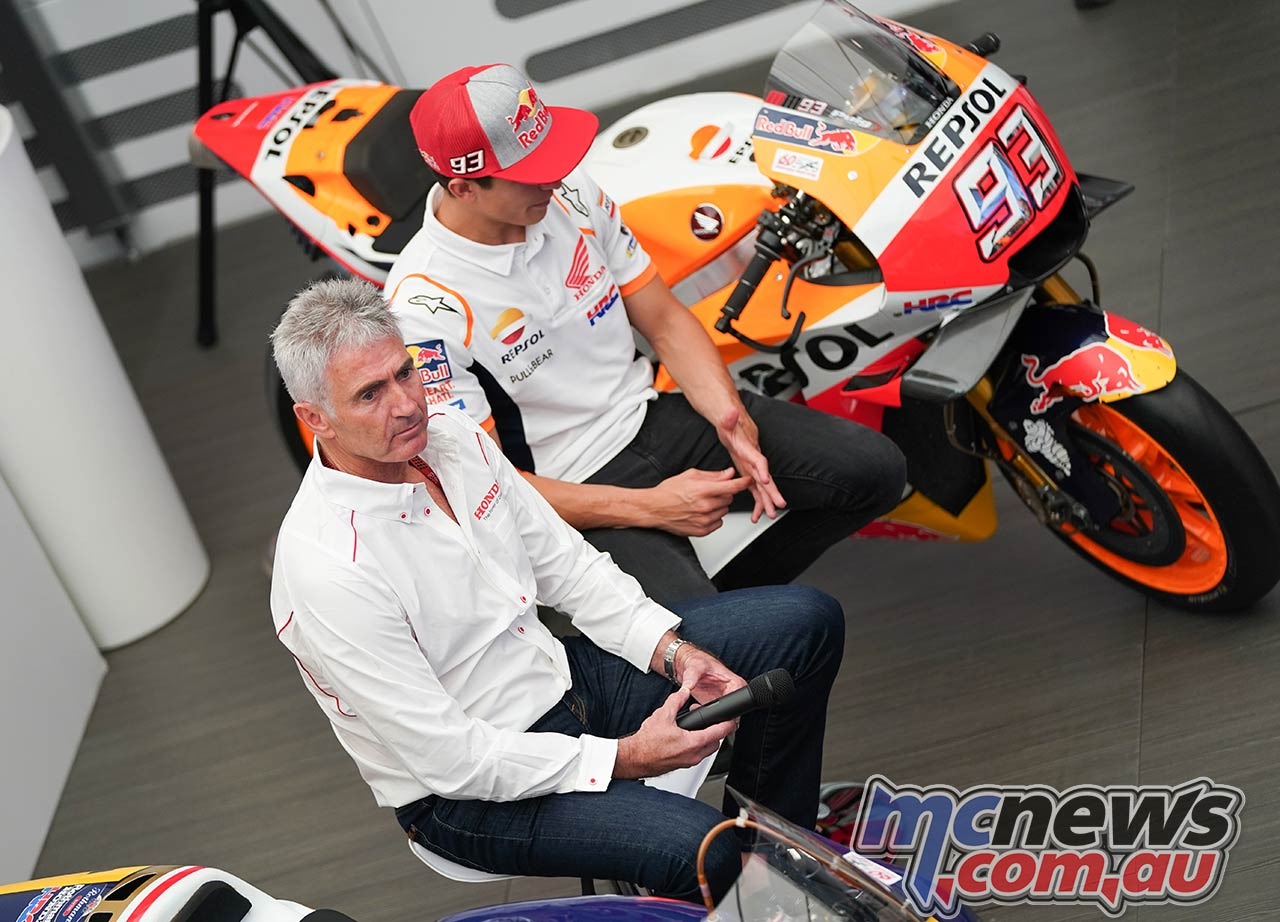 Honda th Road Racing Doohan Marquez