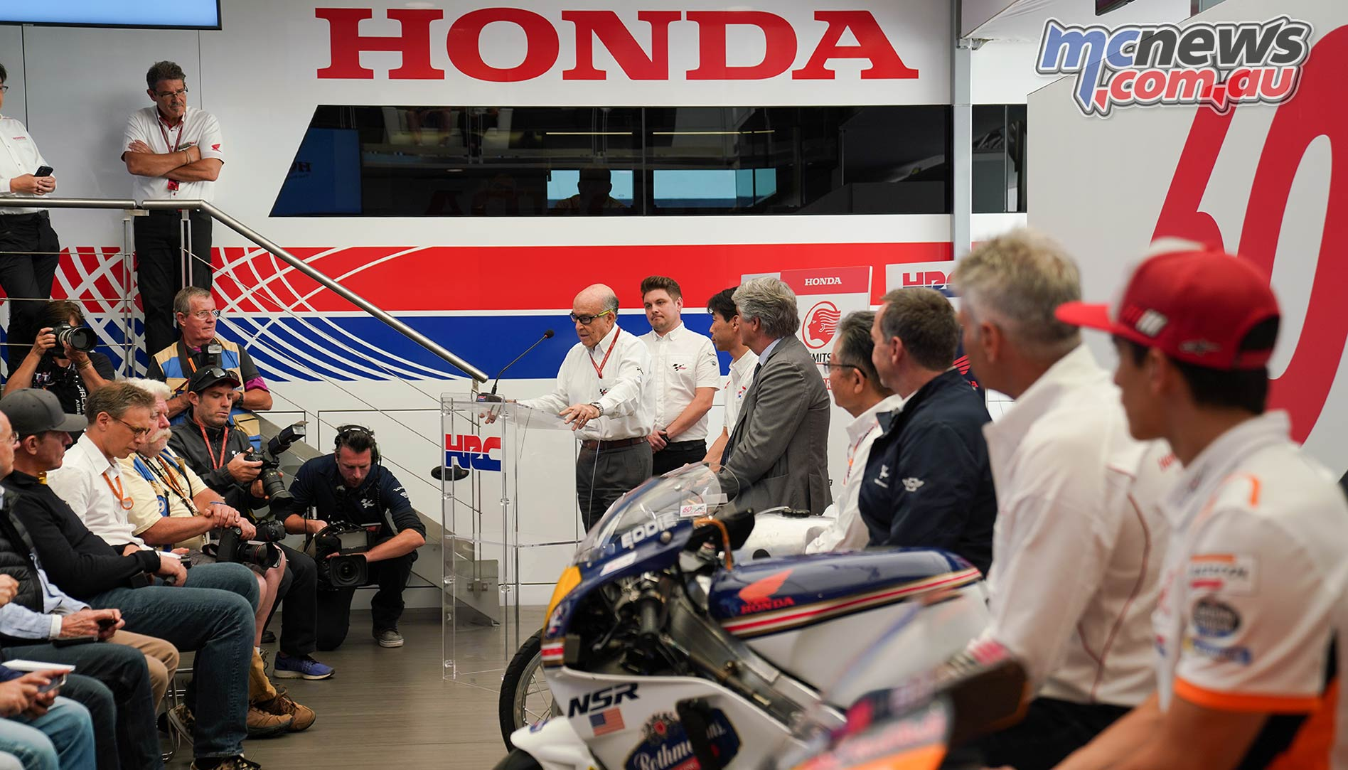 Honda th Road Racing Presentation