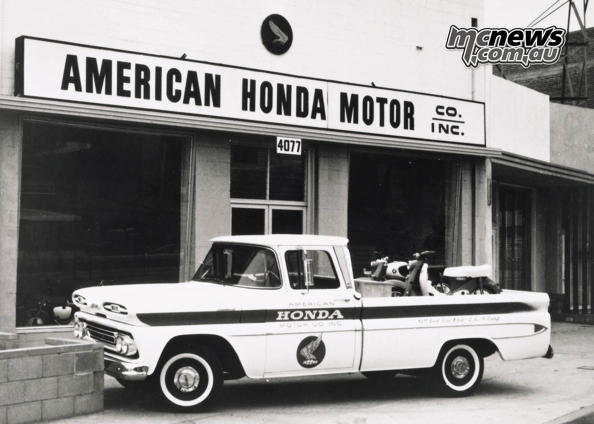 Honda th anniversary Chev Delivery Truck Original