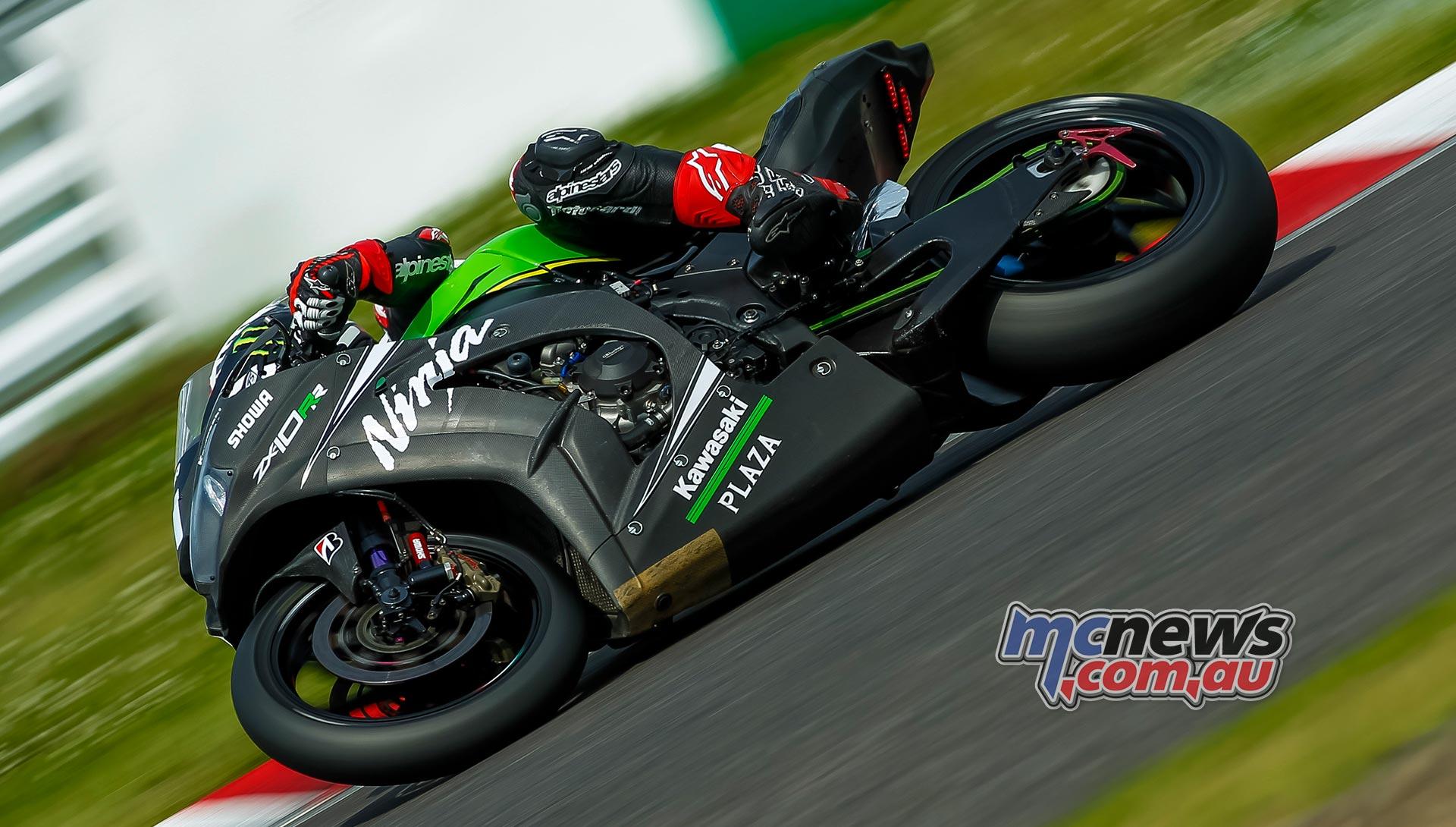 Kawasaki Endurance Suzuka PreTest Action