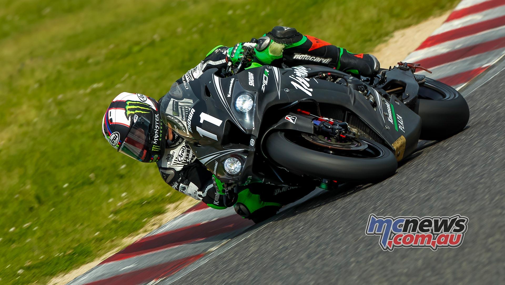 Kawasaki Endurance Suzuka PreTest Action Haslam