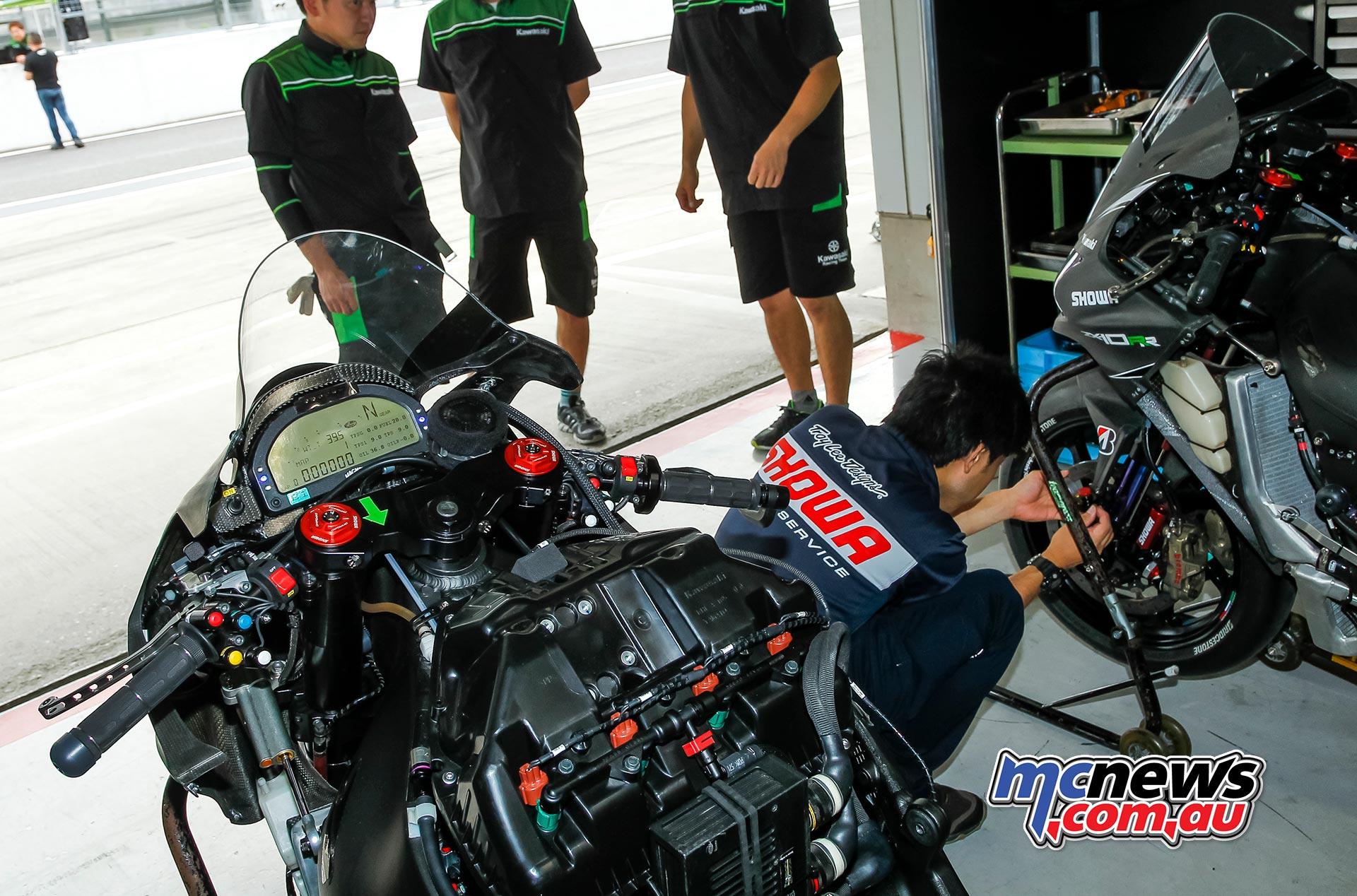 Kawasaki Endurance Suzuka PreTest AirBox