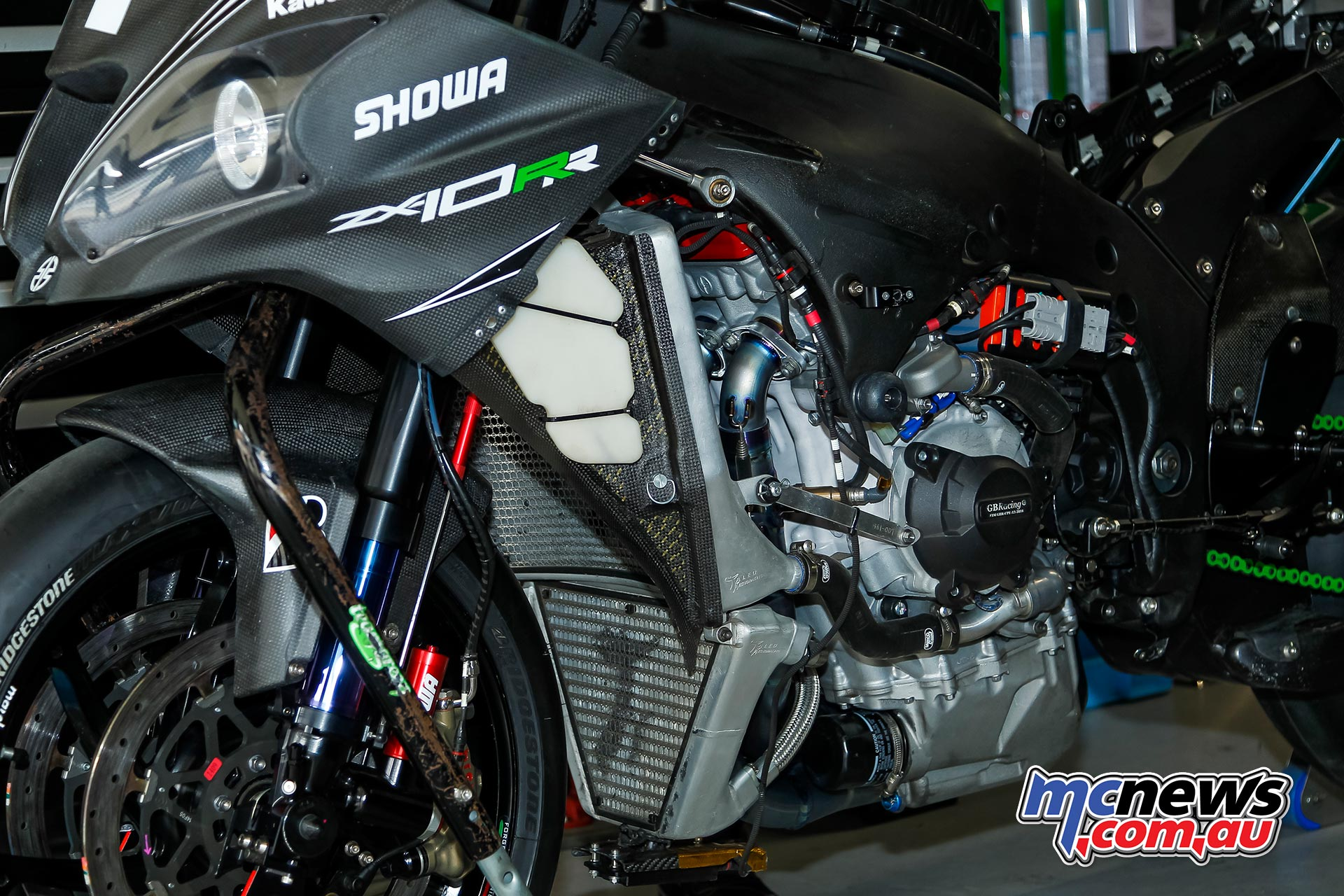 Kawasaki Endurance Suzuka PreTest Pits
