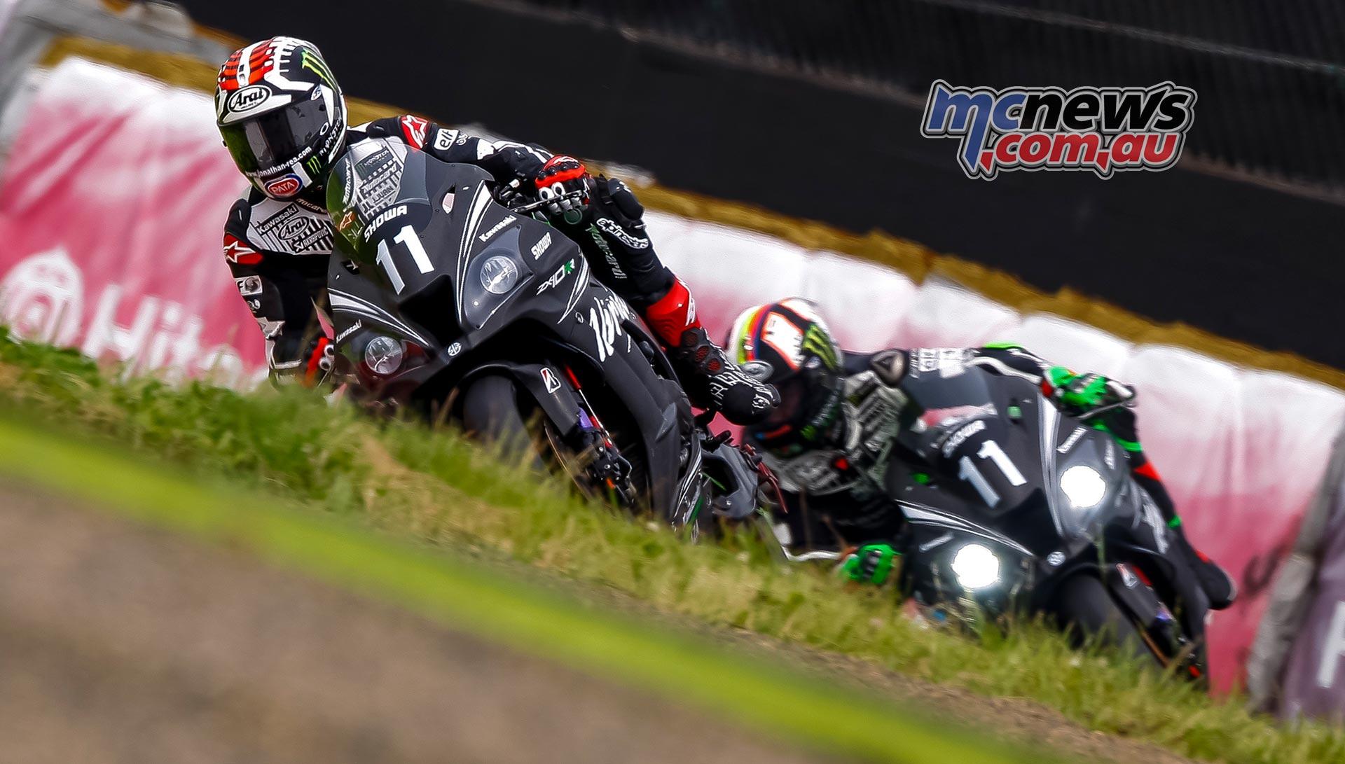 Kawasaki Endurance Suzuka PreTest Rea Haslam