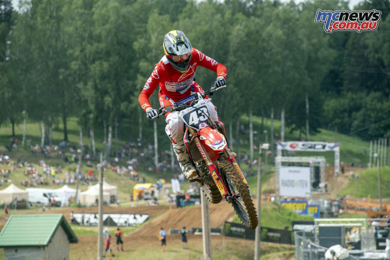 MXGP Latvia Rnd Mitch Evans