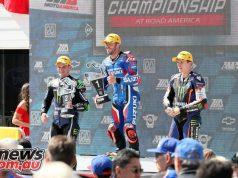 Moto America Road America Sun Herrin SBK Podium BJN PF