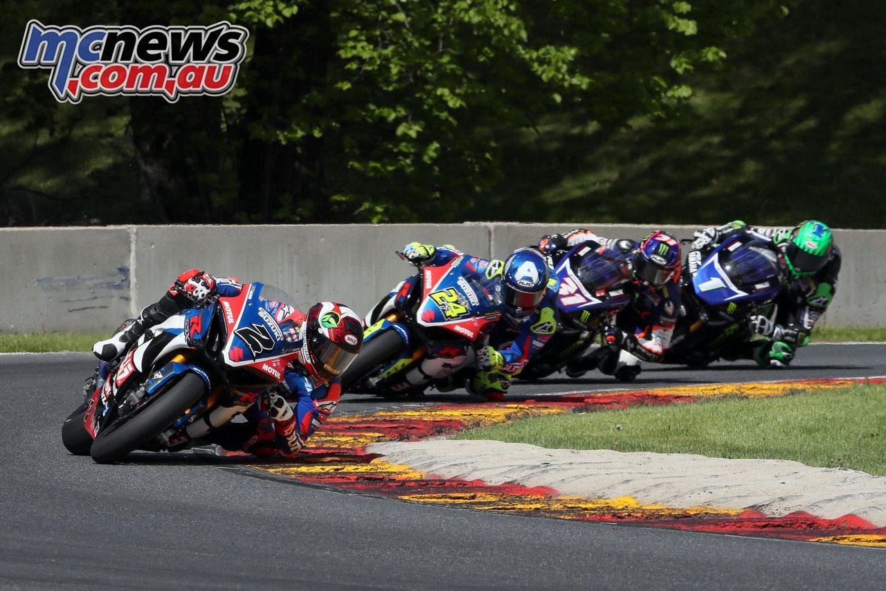 Moto America Road America Sun Josh Herrin BJN P