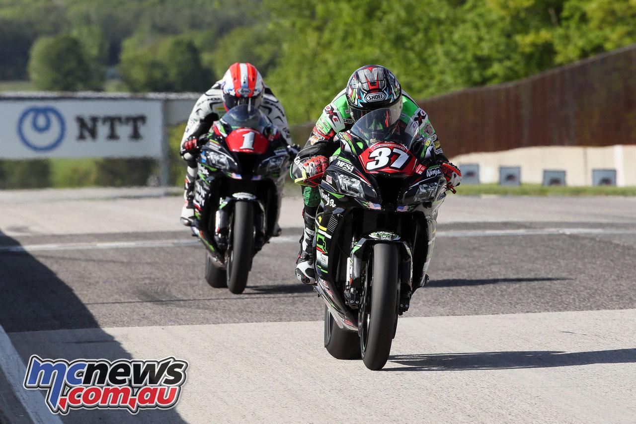 Moto America Road America Sun Stefano Mesa BJN P