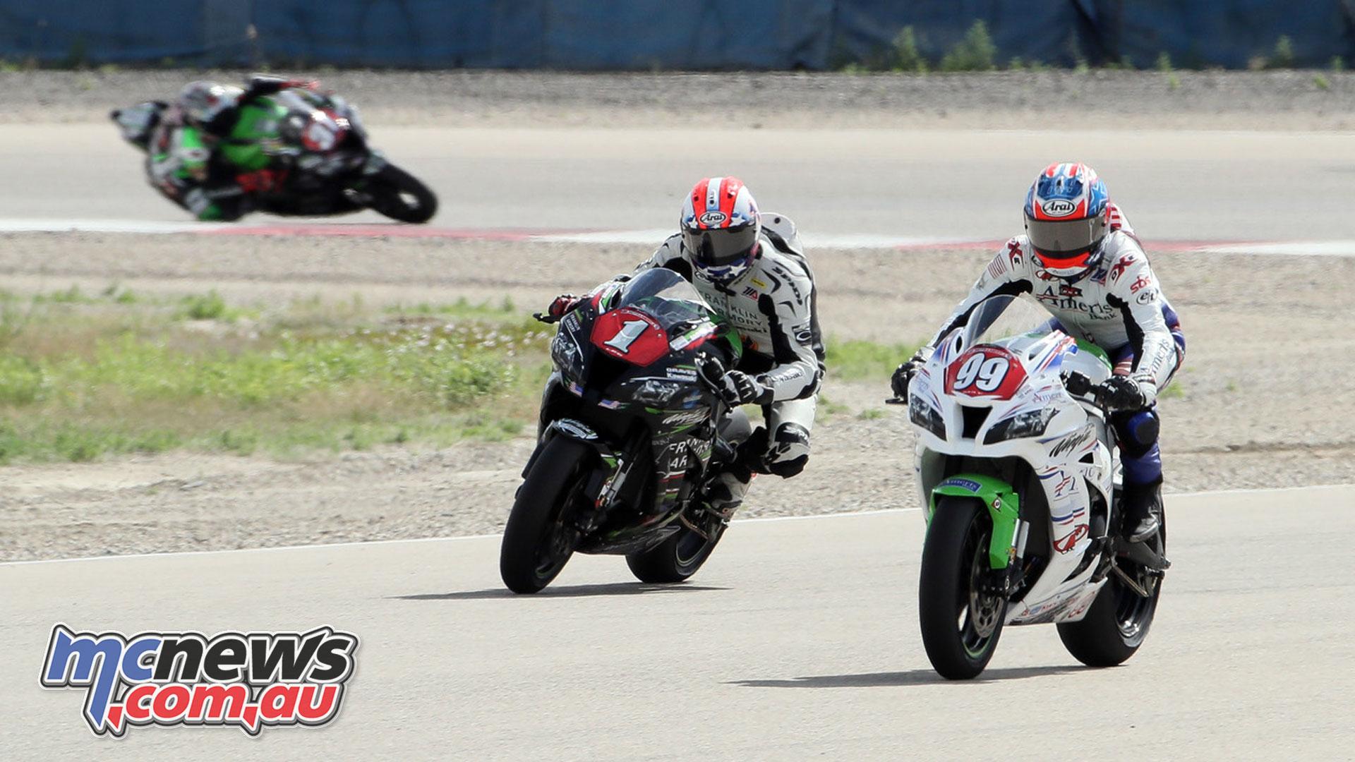 MotoAmerica Utah Rnd STK Andrew Lee BJN P