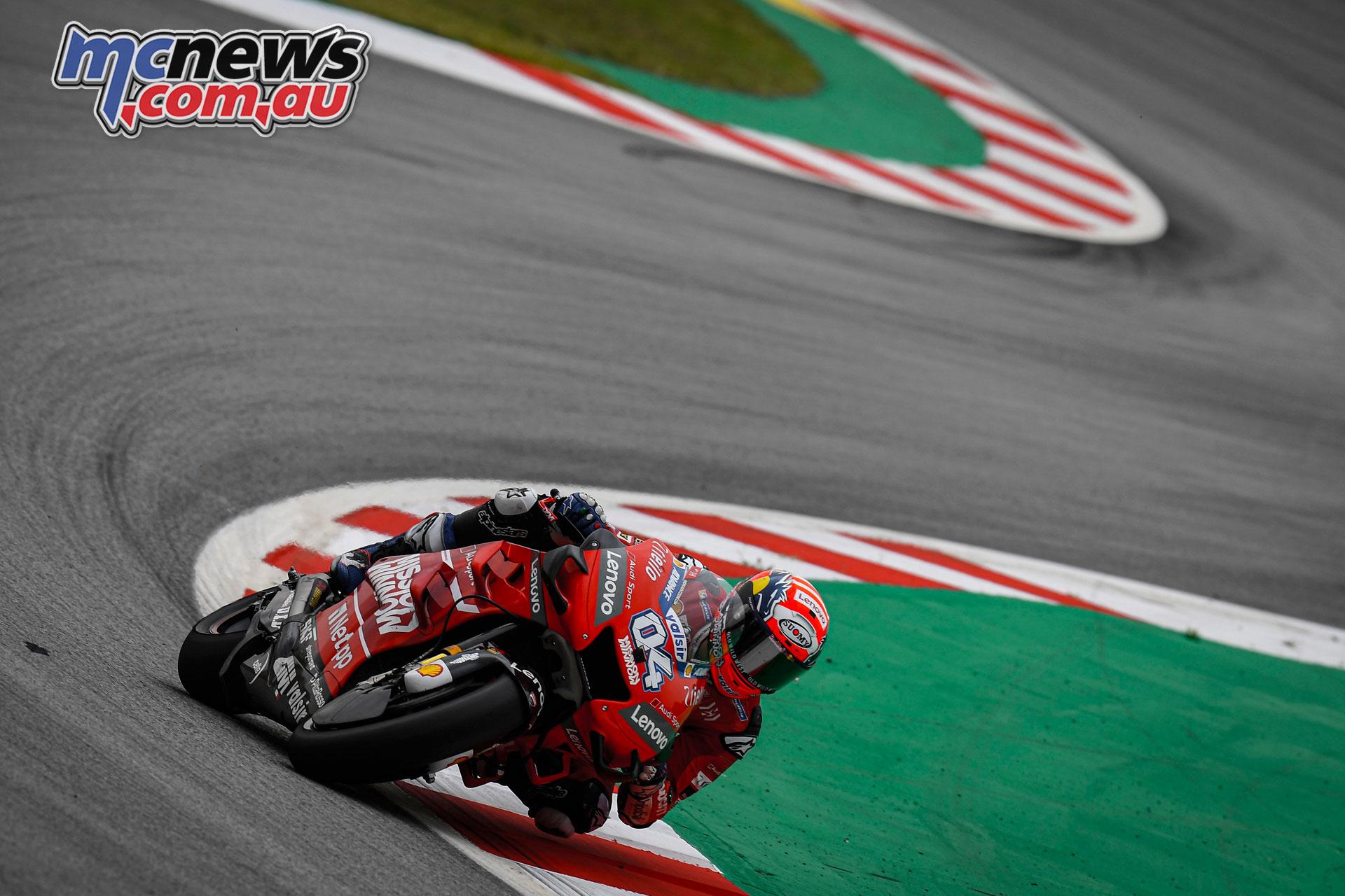 MotoGP Catalunya Fri Dovizioso