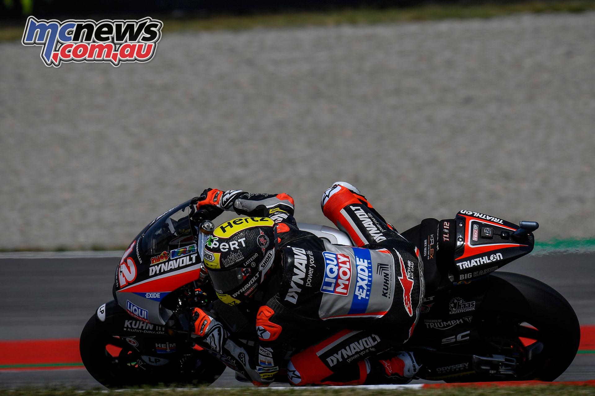 MotoGP Catalunya Fri Tom Lüthi