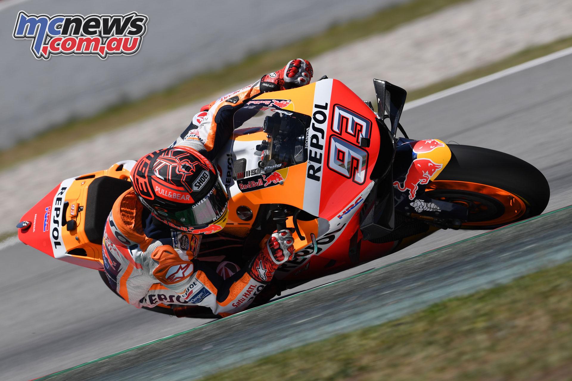 MotoGP Catalunya Test Marquez