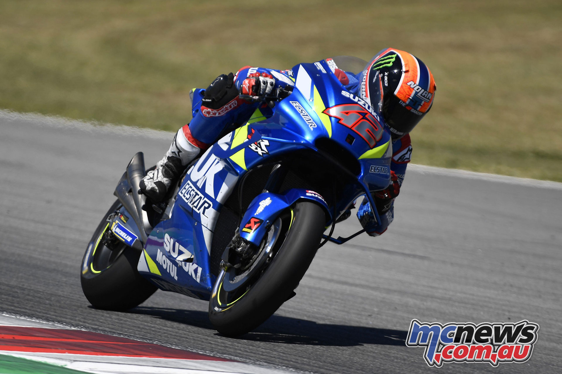 MotoGP Catalunya Test alex rins