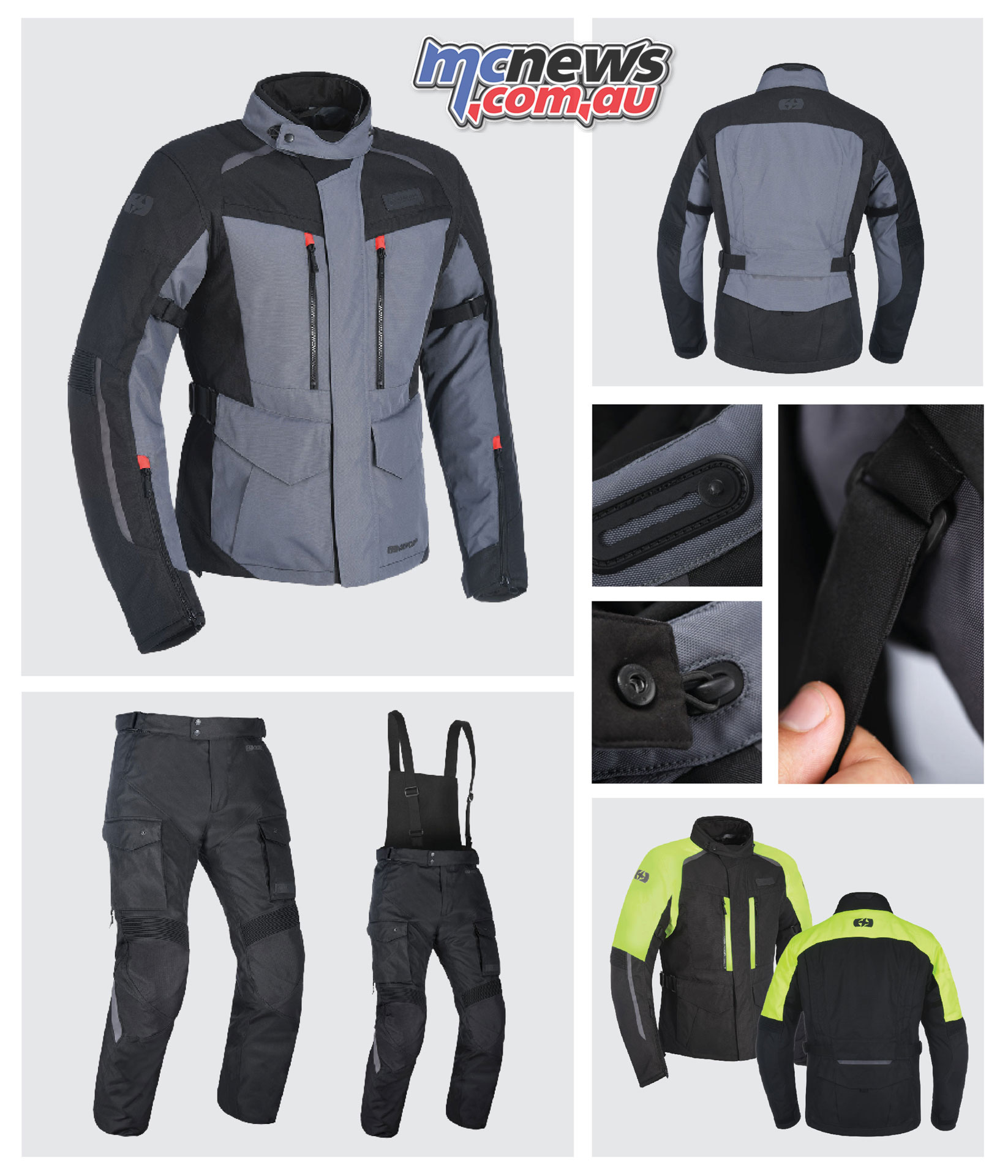 Oxford Continental Adventure Gear Features