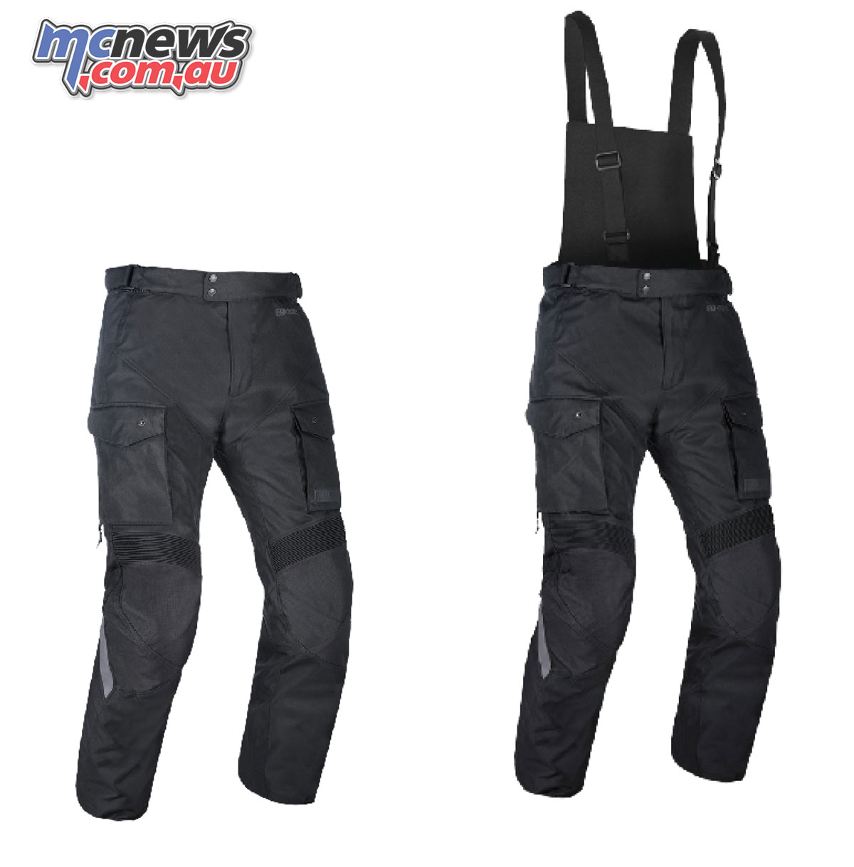 Oxford continental pants strap front