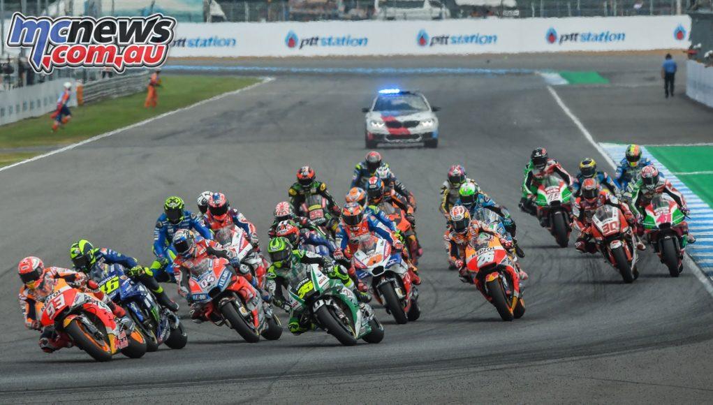 Thailand MotoGP First Corner