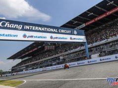 Thailand MotoGP Start Finish Line Angle