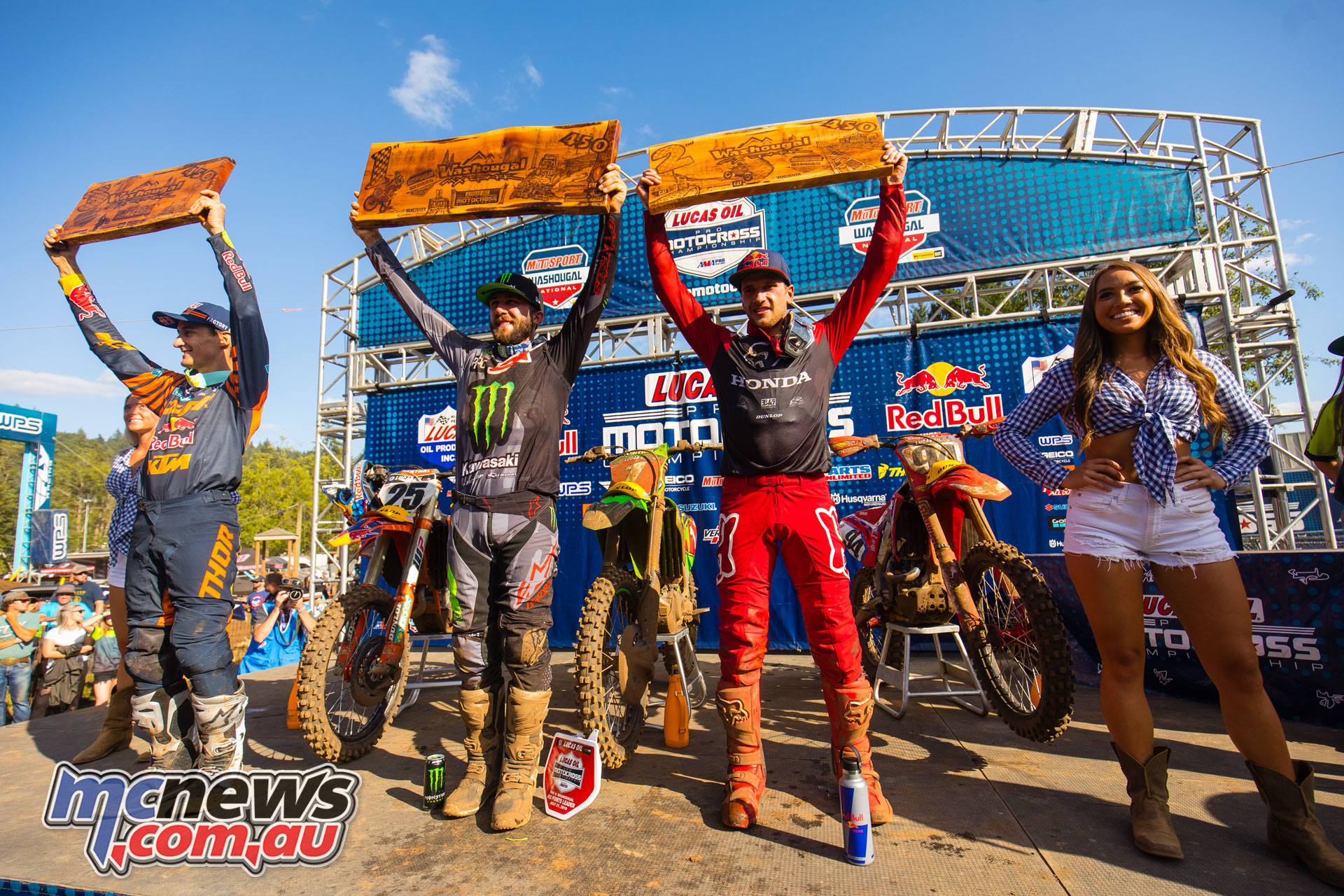 AMA MX Rnd Podium JK MX Washougal