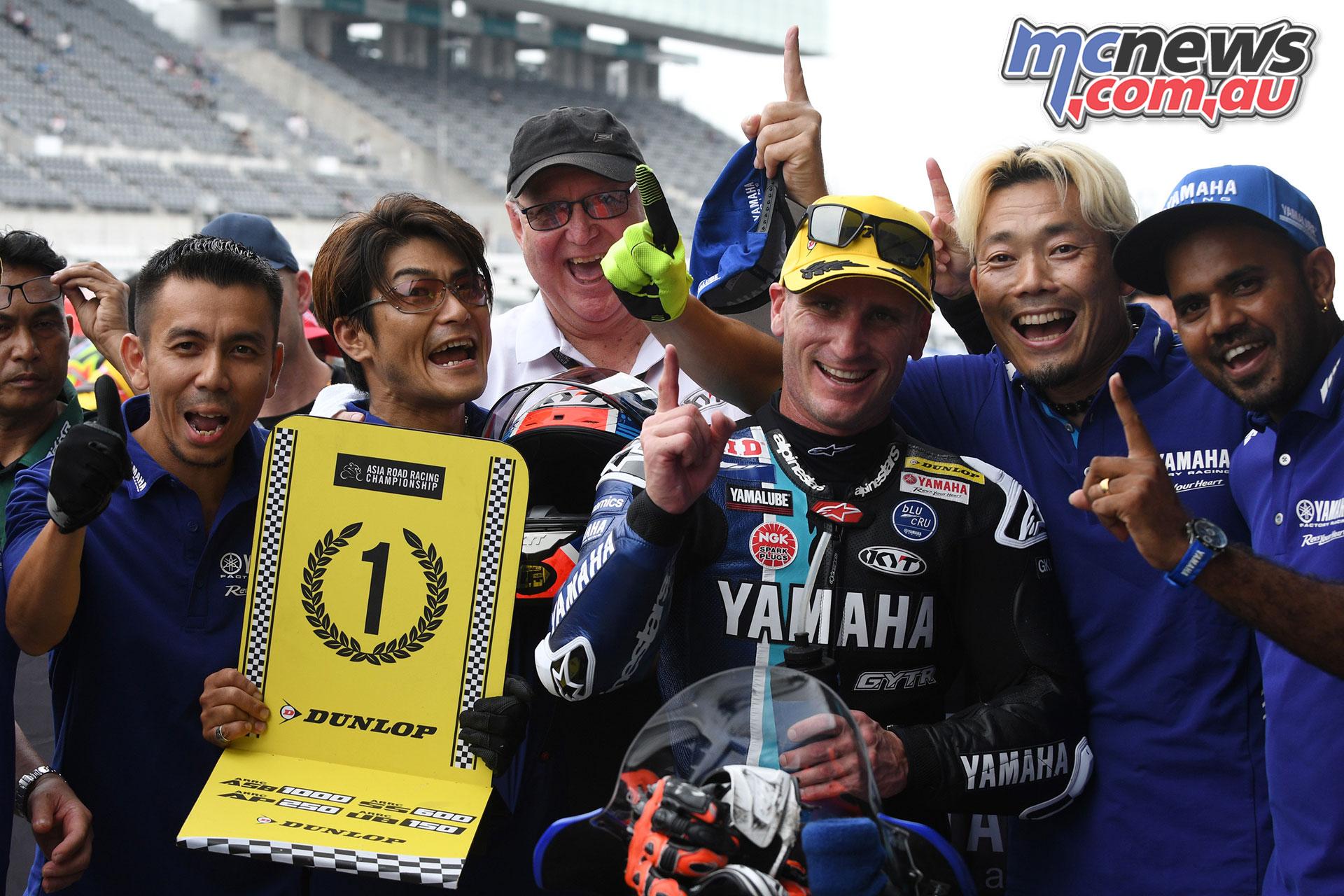ARRC Rnd Japan Broc Parkes Win ARRC Suzuka