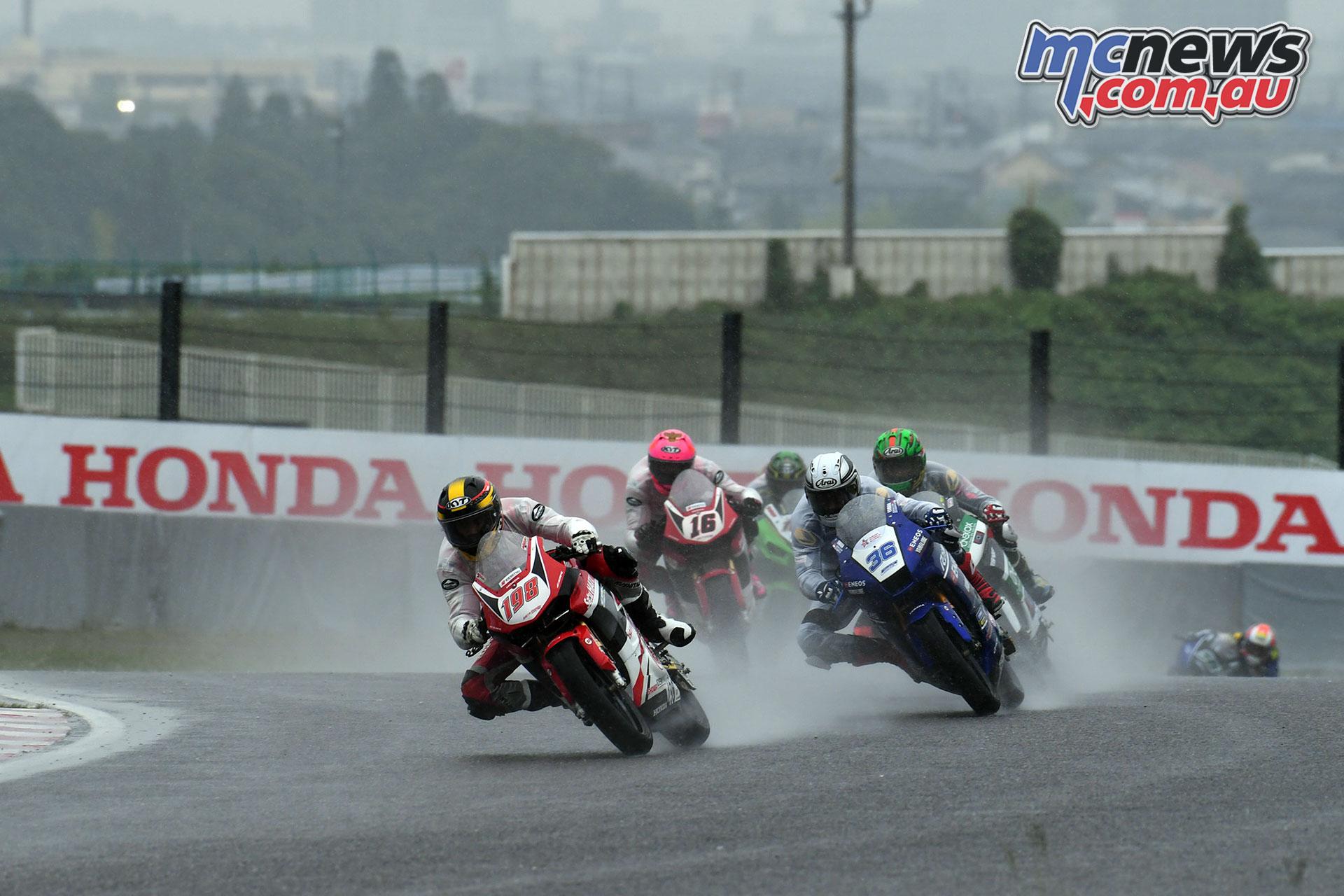ARRC Rnd Japan Sanajaya leads