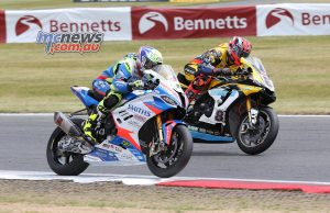 BSB Round Snetterton James Ellison Shaun Winfield