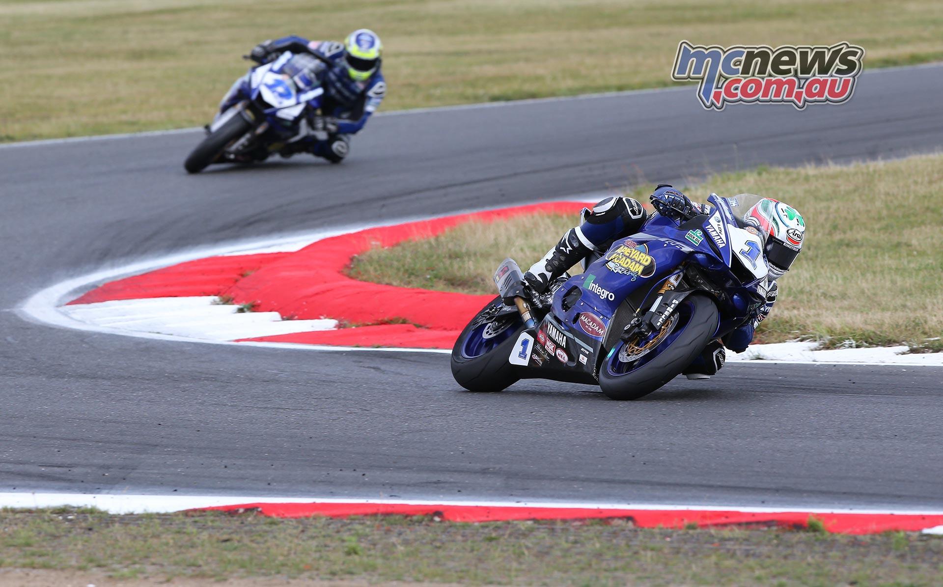 BSB Round Snetterton Supersport Kennedy Jones