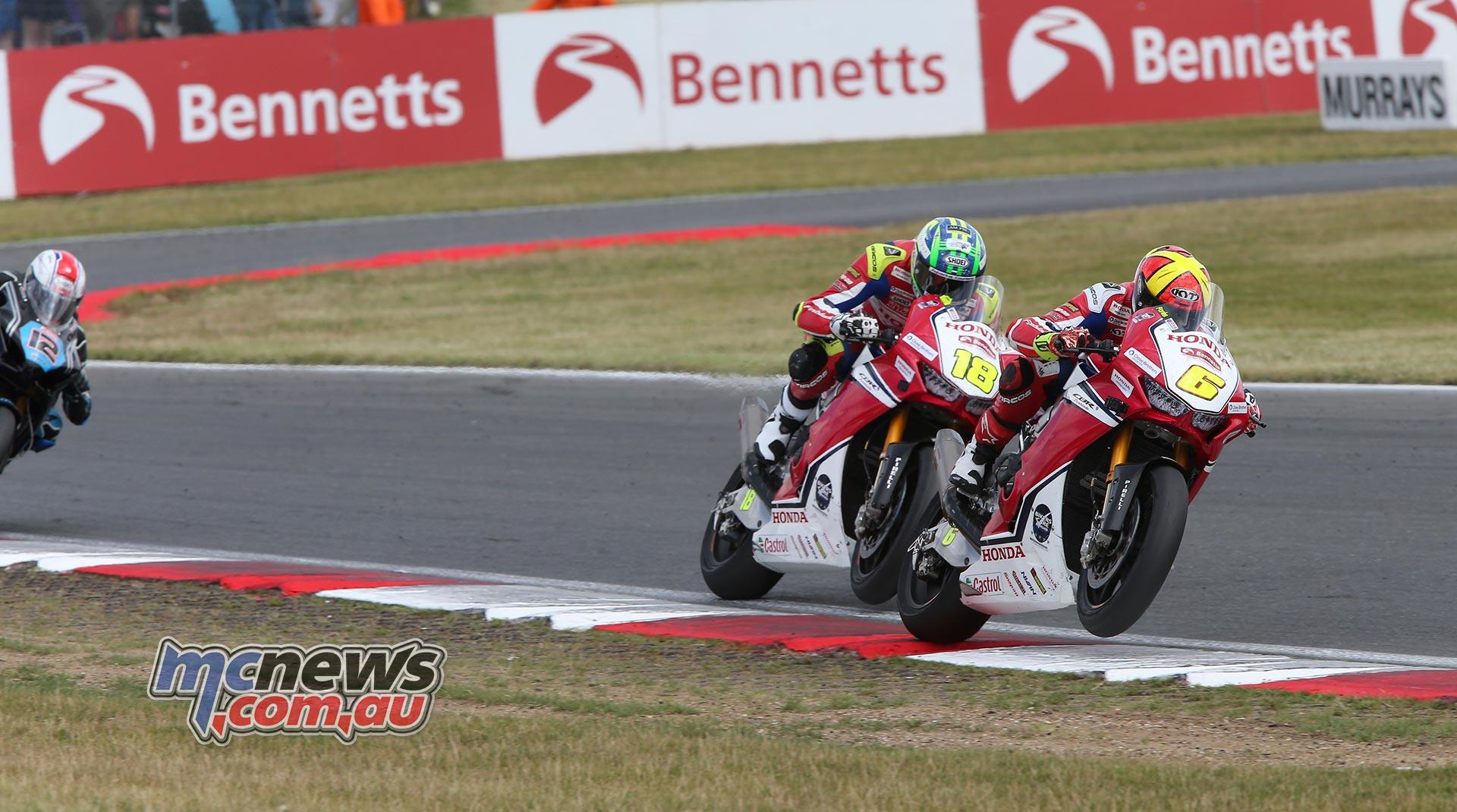 BSB Round Snetterton Xavi Fores Andrew Irwin