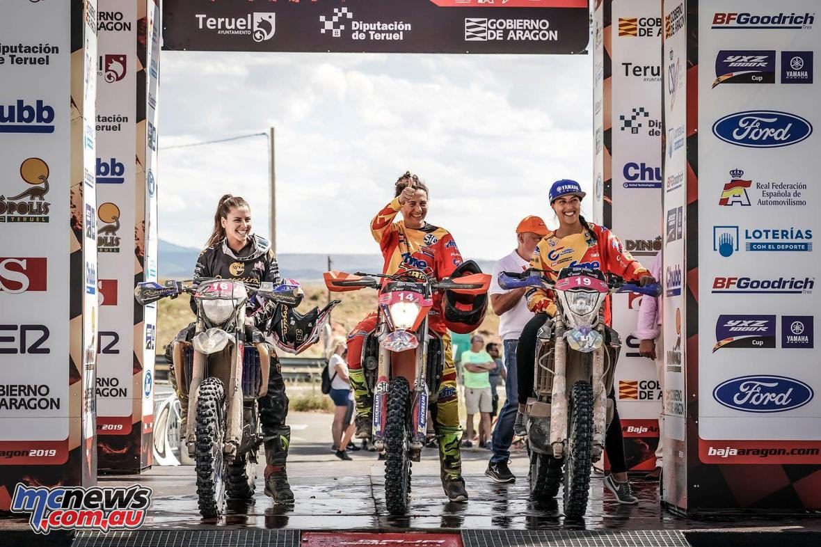 Baja Spain Aragon Bajas Cup Rnd Womens Top podium