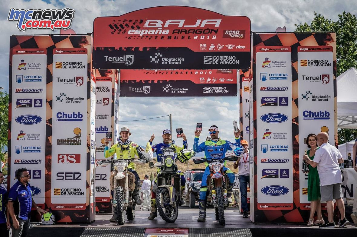Baja Spain Aragon Bajas Cup Rnd podium