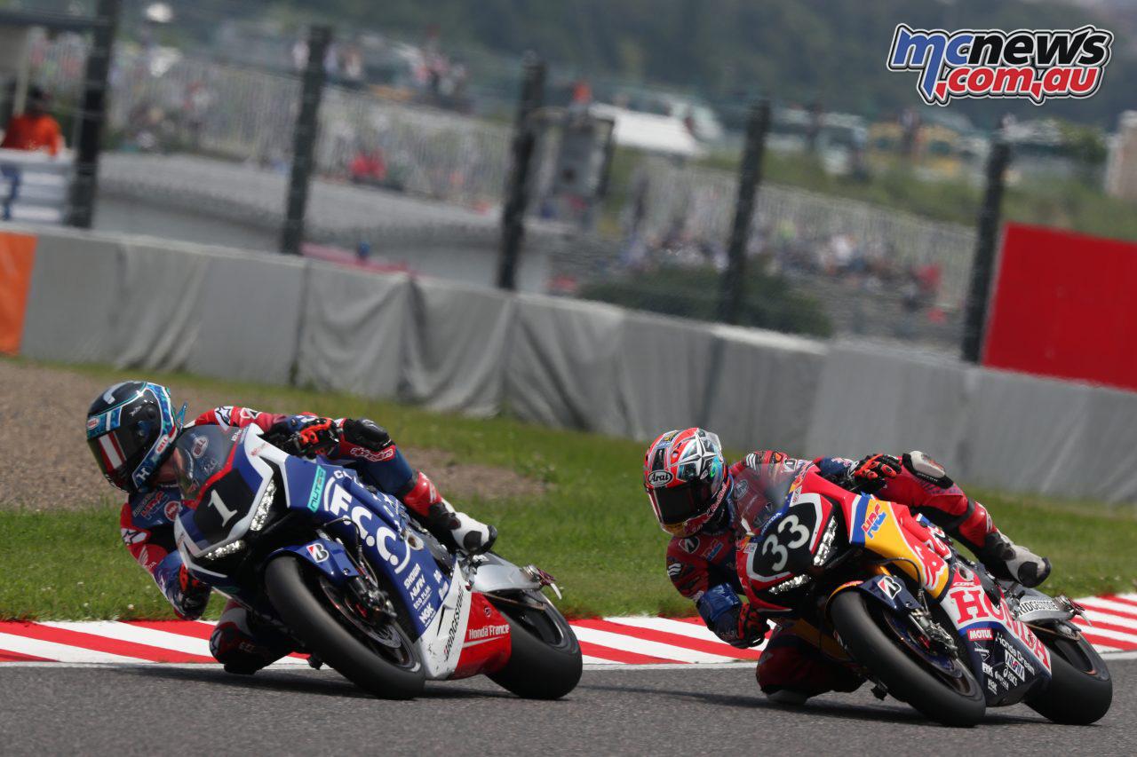 FIM EWC Suzuka Hour FCC TSR Red Bull Honda