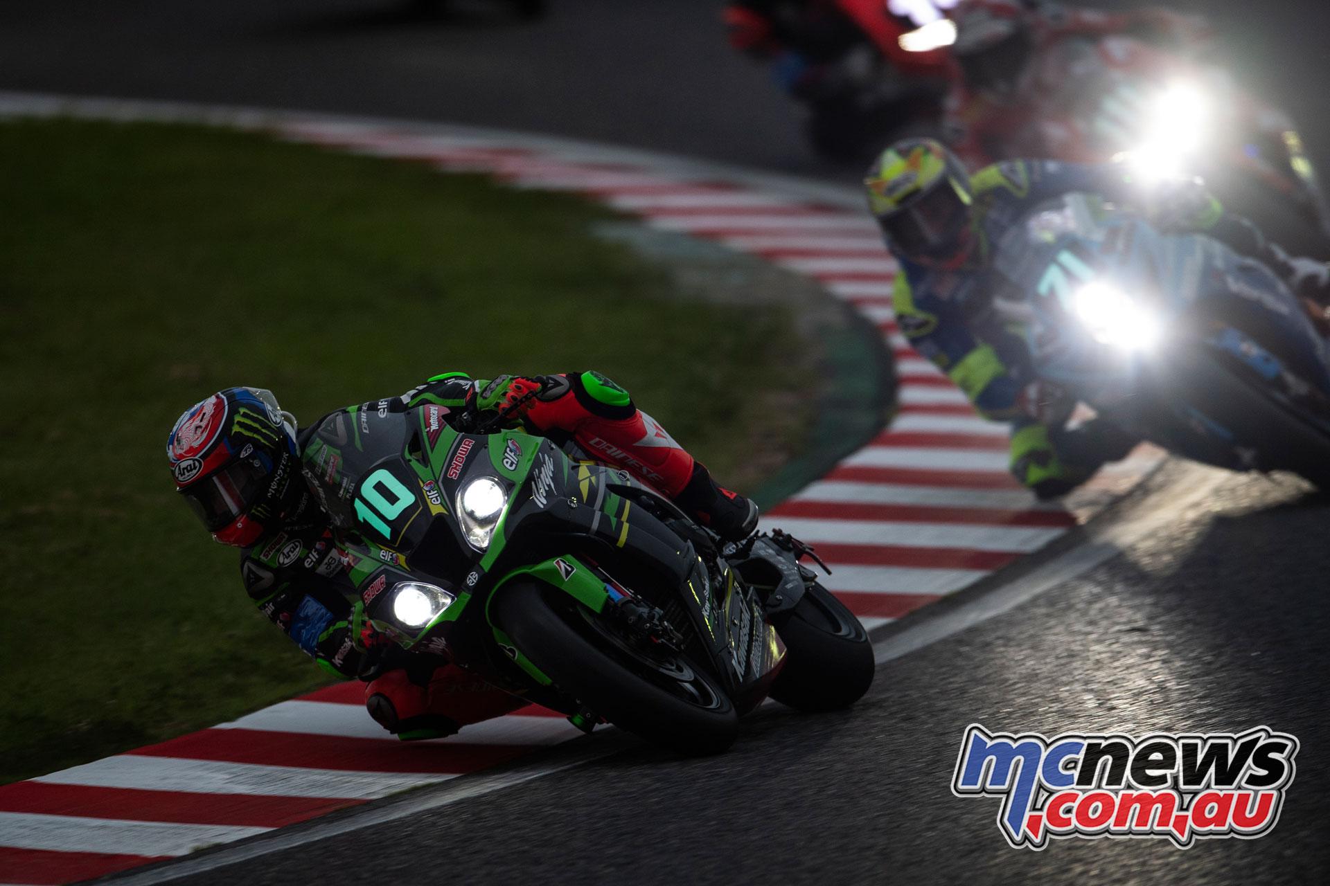 FIM EWC Suzuka Hour Kawasaki Racing Team Haslam GB