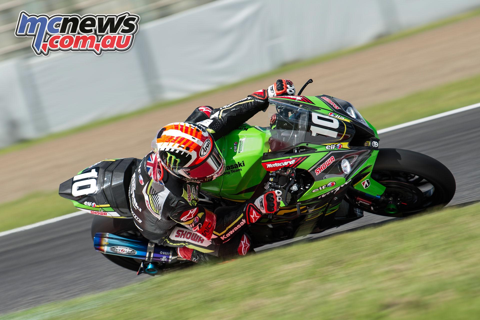 FIM EWC Suzuka Hour Kawasaki Racing Team Rea GB