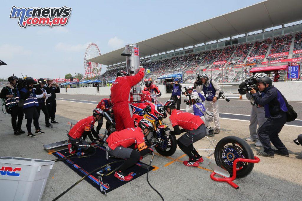 FIM EWC Suzuka Hour Red Bull Honda