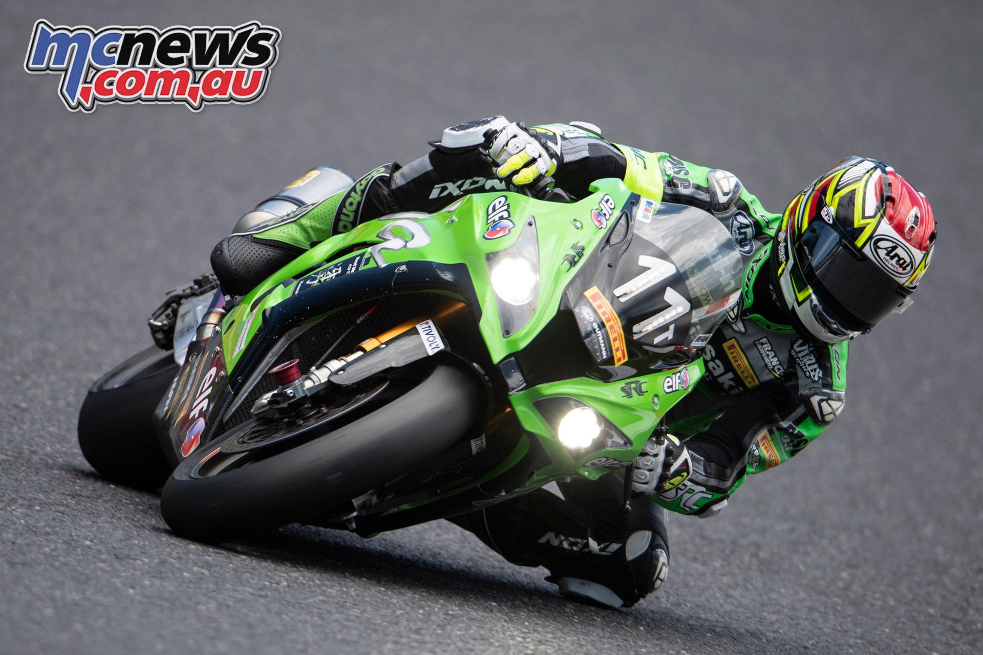 FIM EWC Suzuka Hour Team SCR Kawasaki France Nigon GB