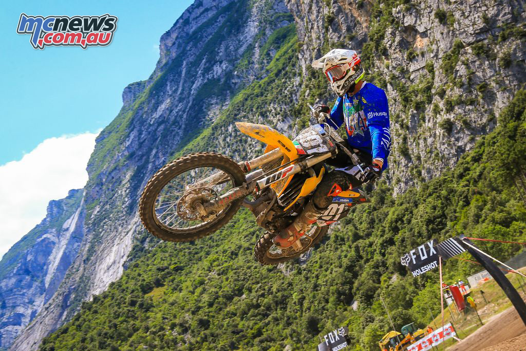 FIM Junior Motocross World Championship Italy Final MX Mattia Guadagnini