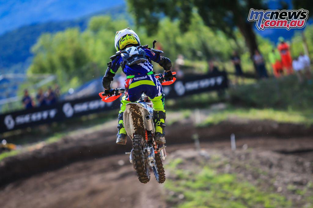 FIM Junior Motocross World Championship Italy Final MX Ky Woods