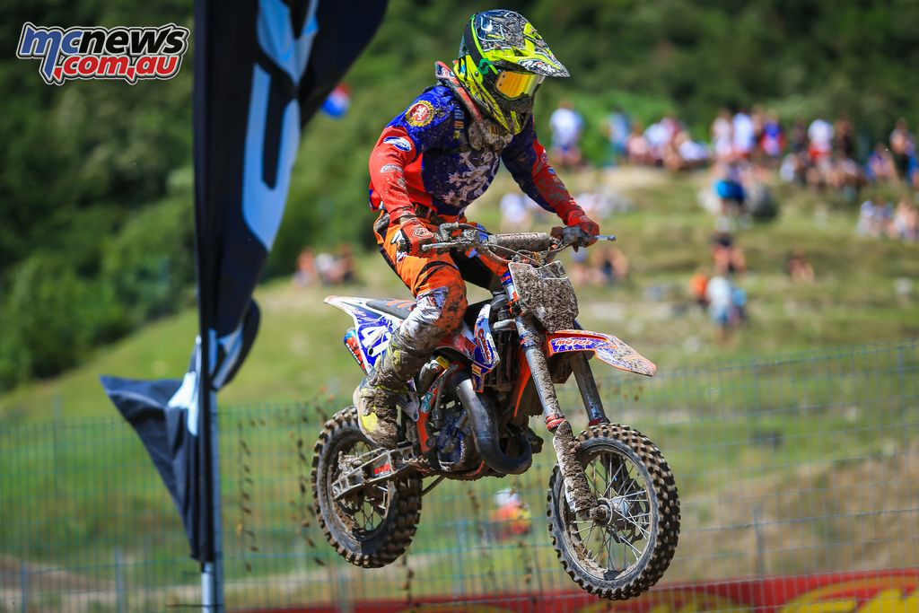 FIM Junior Motocross World Championship Italy Final MX Vitezslav Marek