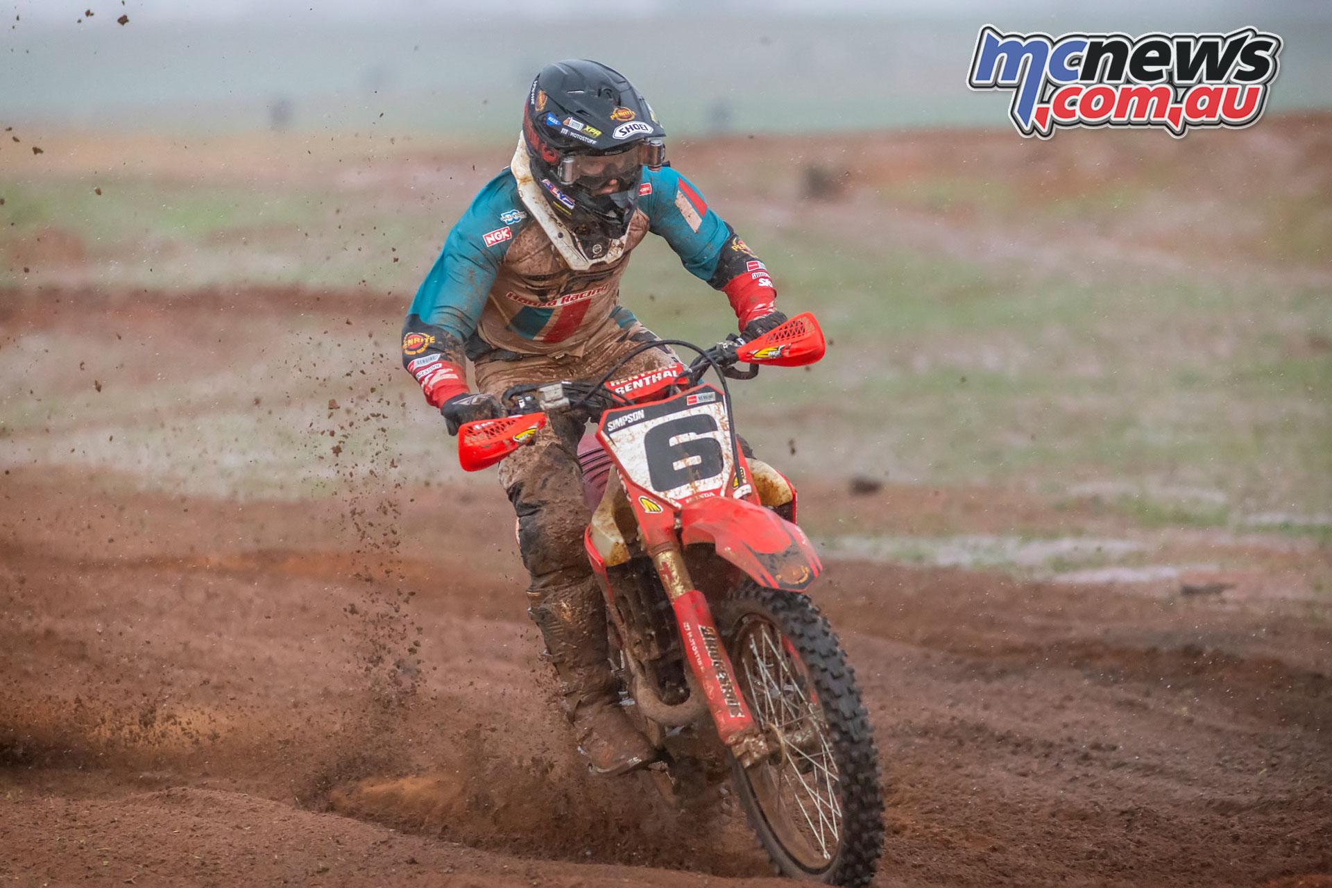 Hattah Desert Race Jack Simpson MG