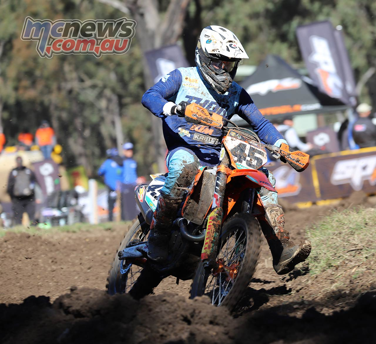 MX Nationals Rnd Maitland MX Hayden Mellross ImageBellaMaurer